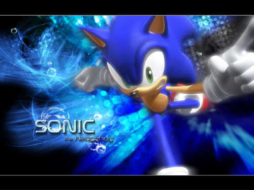 Sonic the Hedgehog wallpaper entitled cool sonic wallpaper