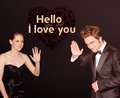 hello my love - robert-pattinson-and-kristen-stewart fan art