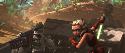звезда Wars: Clone Wars Обои entitled holocron heist