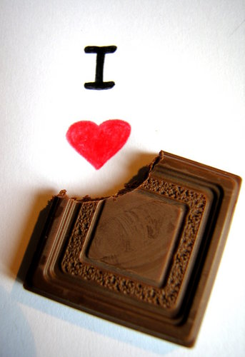 i love chocolate ! :D