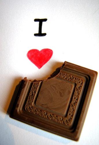 i amor chocolate ! :D