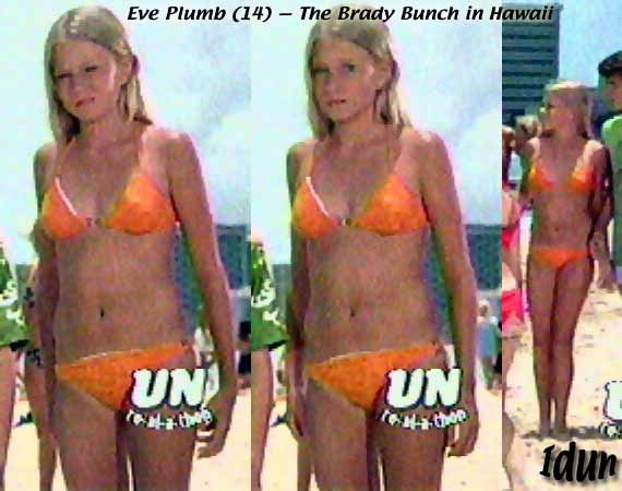 The Brady Bunch jan/eve plumb