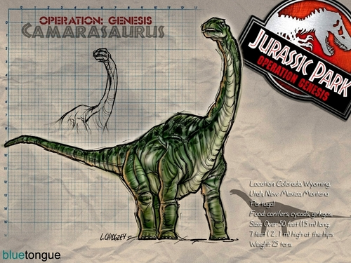Jurassic Park achtergrond titled jpog