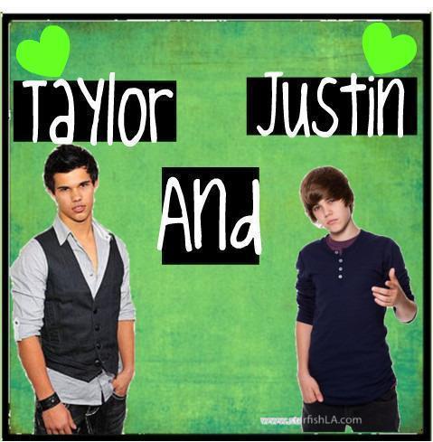 justin bieber and taylor lautner