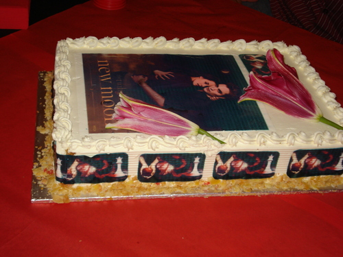 my new moon´s Birthday cake