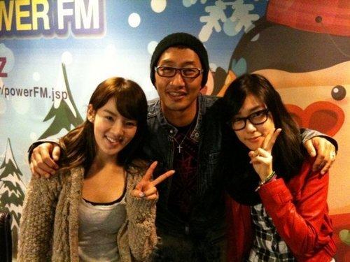 radio show with tiffany and hyoyeon