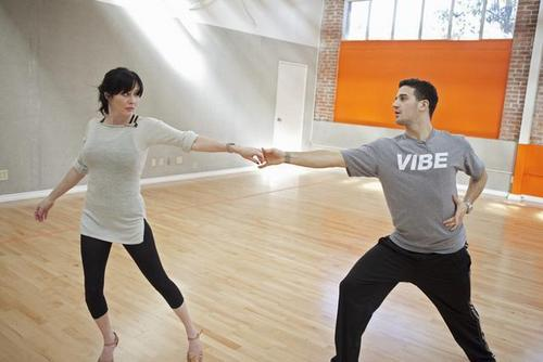 shannen-DANCING WITH THE STARS-Rehearsal