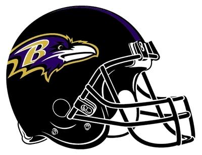 thwe ravens of baltimore. thier helmet!!!!!