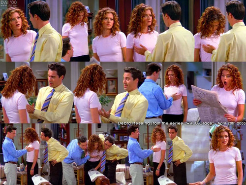will & grace - debra-messing Screencap