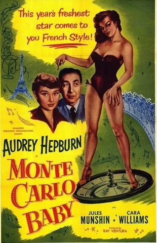 """""""Monte Carlo Baby"""" Poster"""
