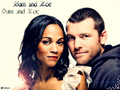 *Sam & Zoe* - sam-worthington wallpaper
