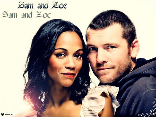 Sam Worthington wallpaper called *Sam & Zoe*