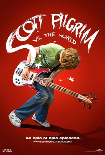 'Scott Pilgrim vs. The World' Teaser Poster