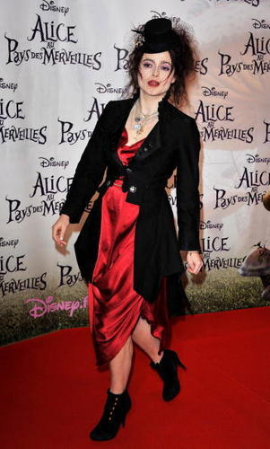 2010 Alice in Wonderland Paris premiere