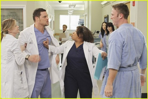 Grey's Anatomy پیپر وال titled 6x19- Sympathy for the Parents Promo Pictures