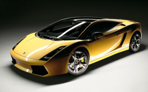 A 2005 Lamborghini Gallardo