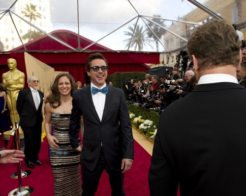 Academy Awards Red Carpet