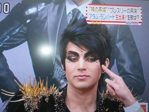 Adam in a japenease show!