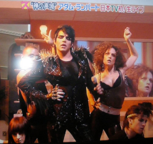 Adam in a japenease show!
