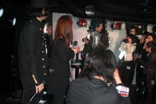 Adam on the event in Roppongi, Japan
