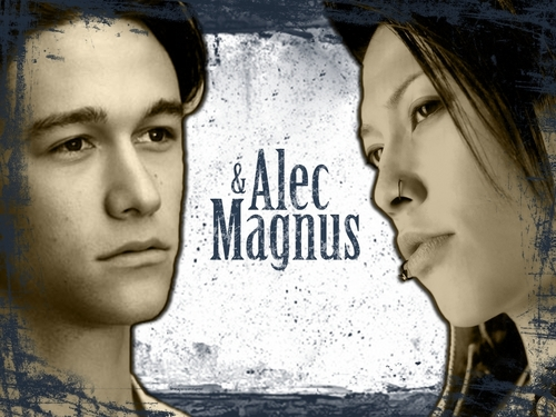 Alec and Magnus Wallpaper - mortal-instruments Wallpaper