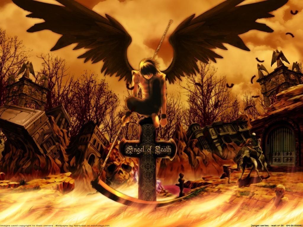 Angel of Death - Fantasy Wallpaper (10918625) - Fanpop