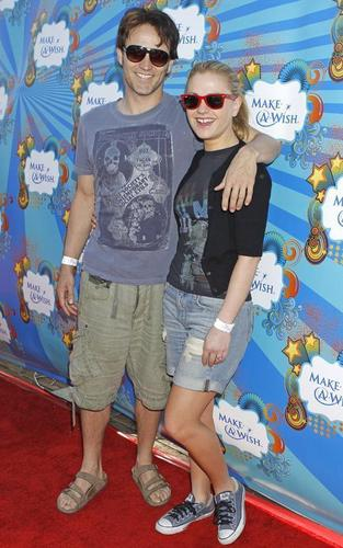 Anna Paquin and Stephen Moyer at the Make-A-Wish Foundation Fun Day (March 14)