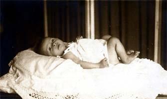 Audrey as an Infant