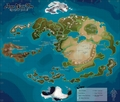 Avatar World Map - avatar-the-last-airbender photo