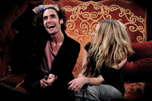 Avril and Tyson Ritter (The All American Rejects) interview/ Alice in Wonderland
