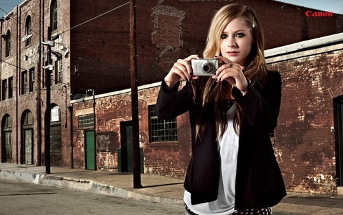 Avril canon photoshoot2010