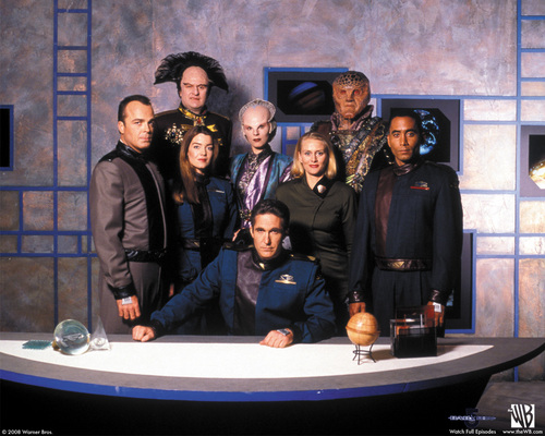 Babylon 5 cast - babylon-5 Wallpaper