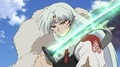 "Bakusaiga, ""My sword."" - sesshomaru screencap"