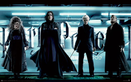 Bellatrix Severus Draco and disgasting Fenrir