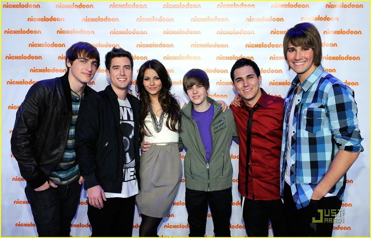 Big Time Rush, Victoria Justice, Justin Bieber