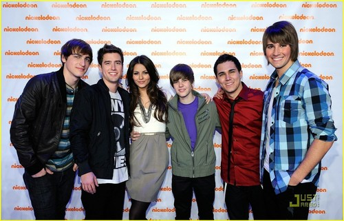 Big Time Rush images Big Time Rush, Victoria Justice, Justin Bieber HD wallpaper and background photos
