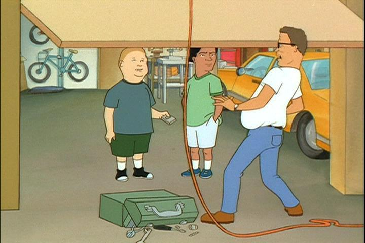 king garage doorKing of the Hill images Bobby Fiddles With Garage Door HD