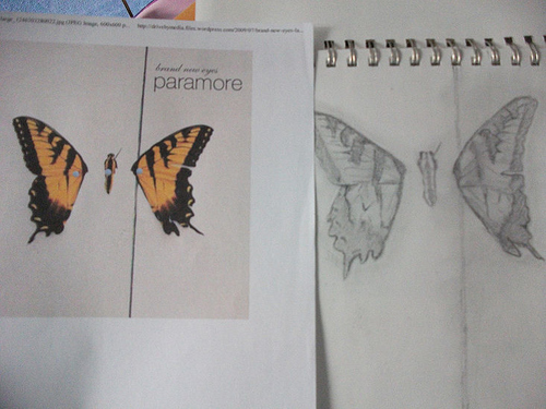 Brand New Eyes drawing