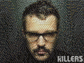 Brandon Flowers collage wallpaper - the-killers wallpaper