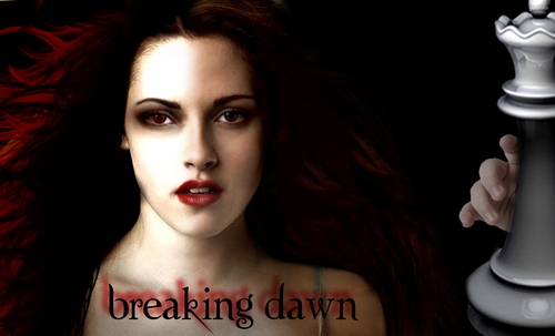 Breaking dawn kertas dinding