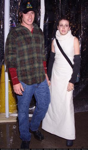 "Brendan and Majandra @ ""AntiTrust"" Premiere"