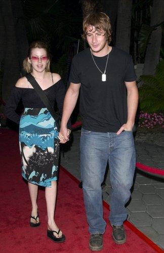 Brendan and Majandra @ GQ party for Mark Wahlberg