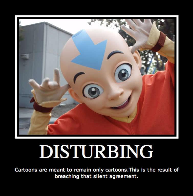 Avatar the last airbender creepy