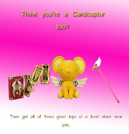 Cardcaptors Toy Ad