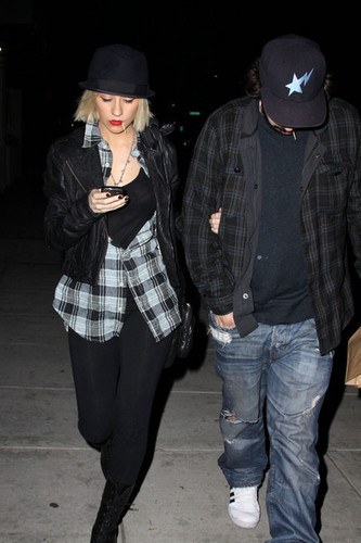 Christina In Hollywood March 8th 2010!