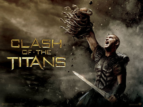 Clash of The Titans kertas dinding