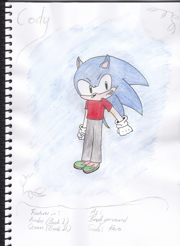 Cody The Hedgehog