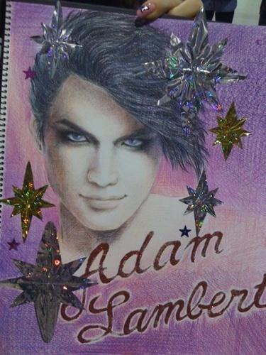 Colorful Adam FYE Drawing