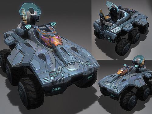 Halo wallpaper titled Concept Art of Aardvark