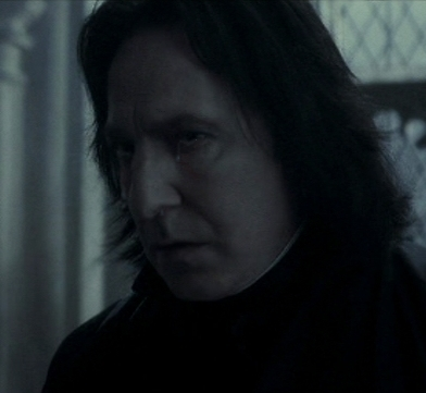 Severus Snape wallpaper titled Crying Snape